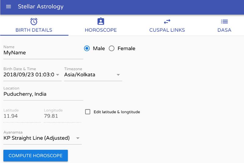 dating horoscope app